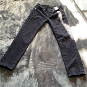 Boys size 14 black Levi's. Size 28 (w), 30 (L).